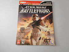 Star Wars Battlefront (PC,Sony Playstation 2, XBOX)Prima Strategy Guide Rare