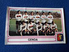 GENOA TEAM B 1978/79 Figurina CALCIATORI Panini n° recuperata