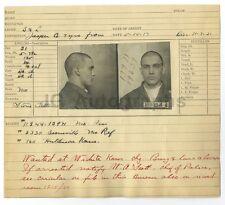 Wanted Notice - Dave Daniels/Burglary & Larceny - Wichita, Kansas, 1917
