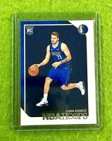 LUKA DONCIC ROOKIE CARD JERSEY #77 DALLAS MAVERICKS TRUE RC 2018-19 Panini HOOPS