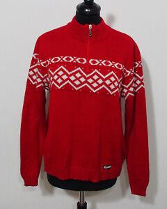 Eisbär Ski Strick Pullover Grösse M Damen Vintage K522