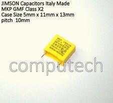 1 PEZZO Condensatore in Polipropilene R46 X2 1uF 1 uF 275V Passo 22,5mm 20/%