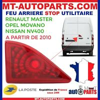 FEU STOP ADDITIONNEL ARRIERE CENTRAL RENAULT MASTER OPEL MOVANO NISSAN NV400