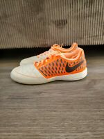 Nike Lunar Gato 2 Sail Orange Pulse Indoor Soccer Shoes 580456-128 Mens Size 7