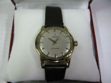 Vintage Omega Seamaster gold capped men's automatic watch 1952