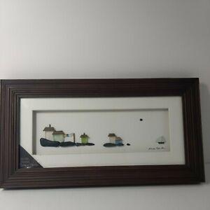 Sharon Nowlan Demdaco On The Horizon 15x8 Dimensional Framed Wall Art (Expresso)