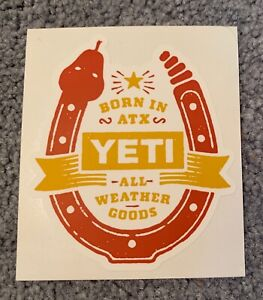 Authentic YETI Decal / Stickers - Your Choice (33 Choices)