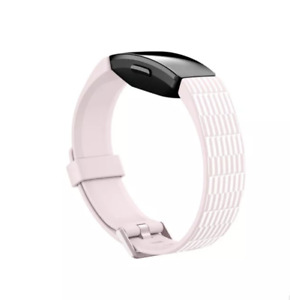 NEW Fitbit Inspire & Inspire HR Accessory Band Bracelet Pink & White Print LARGE