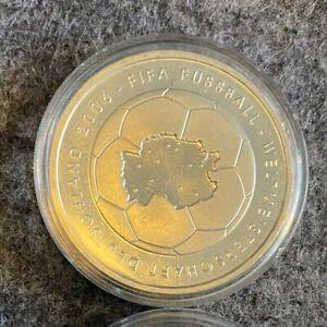 10 EURO Münze  FIFA Fußball WM Deutschland 2006