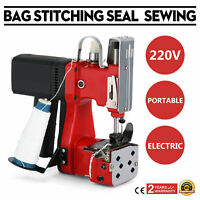 190W GK9-890 Portable Electric Bag Closer Sewing Sealing Stitching Machine 220V