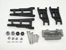 NEW TRAXXAS RUSTLER Arms Front & Rear +Hinge Pins/Hex Nuts VXL RUE1