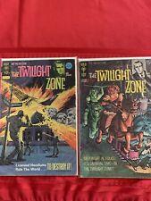 The Twilight Zone #34 #56 Gold Key