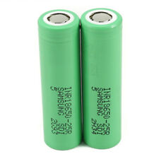 For Samsung INR18650-25R 3.7V Drain Flat Top Rechargable Battery 2500 JX