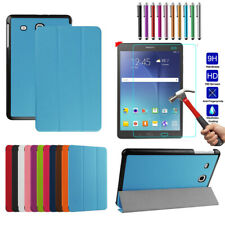Smart Magnetic Leather Shockproof Case Folio Cover For Samsung Tab A E J S S2 S3