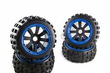 MadMax Big Digger Tyres On 8 Spoke Rims / Wheels For KM & HPI Baja 1/5th RC