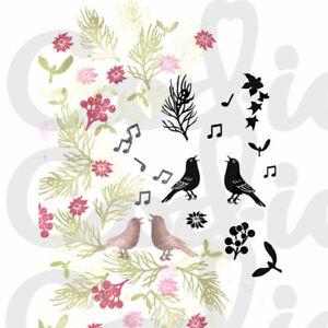 Card-io Christmas Chorus Majestix Clear Peg Stamps CDMACH-05