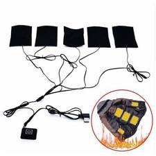 5V USB Heat Heating Pad Coat Jacket Carbon Fiber Film Electric Winter Warmer Pad