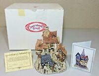 David Winter Cottages - The House On Top - 1982 ORIGINAL BOX & COA