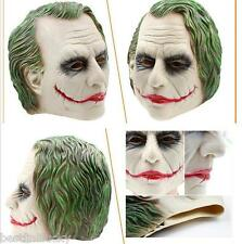 The Dark Knight Latex Joker Batman Mask Masquerade Adult Cosplay Halloween Party
