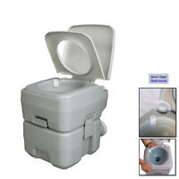 20L Holding Tank Portable Toilet Flush Travel Camping Toilet Potty with Upgrades