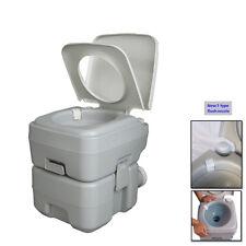 20L Holding Tank Portable Toilet Flush Travel Camping Hiking Toilet Potty New