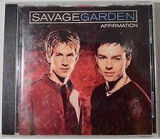 Savage Garden Affirmation CD Album Australian Import Bonus Track 1999
