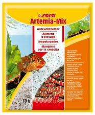 Sera 2 X artemia Mix 36G (2x18g) alimento comida peces tropicales alevines