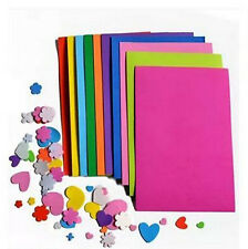 Kids A4 Handmade 10Pcs Thick Multicolor Sponge EVA Foam Paper Sheets DIY Craft