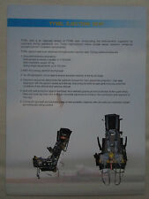 2009 DOCUMENT RECTO VERSO TY5BL EJECTION SEAT AVIATION CHINA SIEGE EJECTABLE