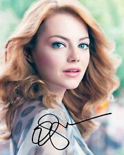 EMMA STONE AUTOGRAPHED SIGNED A4 PP POSTER PHOTO 1