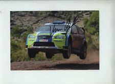 Marcus Gronholm Ford Focus RS WRC 06 Winner Turkey Rally 2006 Signed Photograph