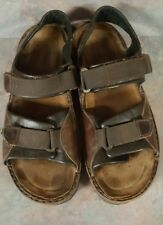 NAOT Andes Men's Brown Leather Sandals! Size 43 Euro 10-10.5 US