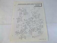 "1968 Bolens Model 18049-01 48"" Center Mount Rotary Mower Illustrated Parts List"