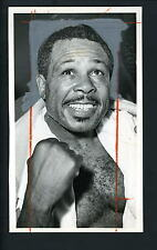 Archie Moore after defeating Giulio Rinaldi 1961 Press Wire Photo Champion Boxer