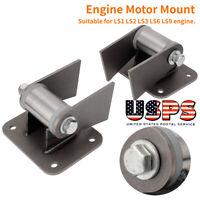 For LS1 LS2 LS3 LS6 LS9 Car Engine Mounting Conversion Swaps Alloy Steel 2Pcs