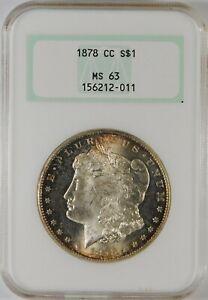 1878-CC $1 Morgan Silver Dollar Coin NGC MS63 **Carson City**