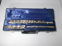 Gemeinhardt 3B Silver plated Flute, Open-Hole, B-foot, inline G