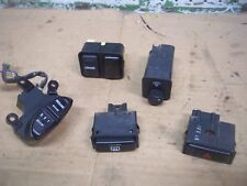 LOT 1991 HONDA ACCORD LX DASH SWITCHES CRUISE DEFROST DIMMER 1993 1992 1990 4DR