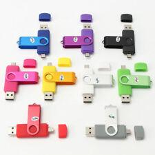 Micro USB FLASH OTG chiavetta memoria Pollice 64GB 32GB U Disk per PC Android LOTTO TH