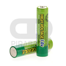 2 PILES ACCU ENELOOP RECHARGEABLE AAA LR03 1.6V 900mWh Ni-Mh BATTERY BATTERIE