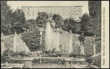 cartolina TIVOLI villa d'este-lo scalone che conduce al palazzo