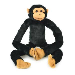 Korimco Kids 68cm Hanging Chimp Large Black Children Plush Soft Monkey Land Toy