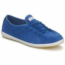 LAFEYT blue suede leather sneakers ONE PIECE scarpe donna casual 39 (38) BNIB