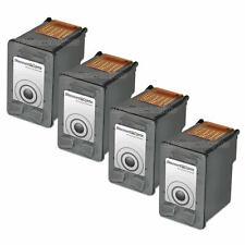 4PK BLACK C9351AN Ink Cartridge for HP 21 Deskjet 3930v D1520 3920 D1320 D1311