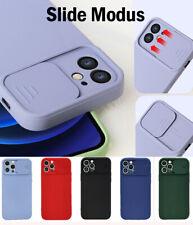 Handy Hülle Slide Kameraschutz iPhone Samsung Soft Silikon TPU