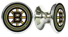 BOSTON BRUINS NHL DRAWER PULLS / CABINET KNOBS