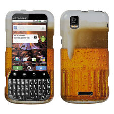 For Sprint Motorola XPRT MB612 HARD Protector Case Snap On Phone Cover Beer