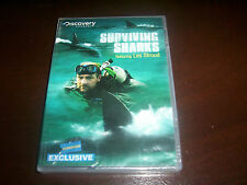 SURVIVING SHARKS Shark Attack Frenzy Great White Tiger Discovery Channel DVD NEW