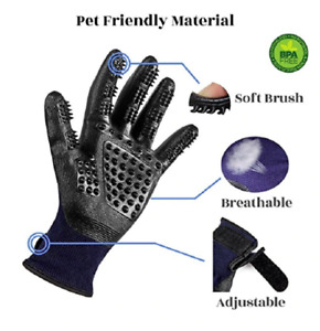 Hirundo Pet Grooming Gloves For Cats, Dogs & Horses / Pair HOT