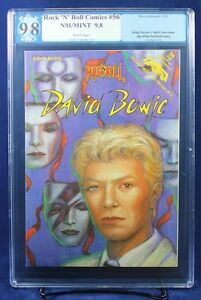 ROCK N ROLL COMICS #56 DAVID BOWIE PGX 9.8 NM/MT Near Mint/Mint - HTF!!!